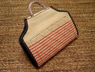 Dog bite developer cover ( Dog bite developer cuff ) made of jute with handle