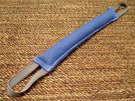 Dog bite tag ( dog bite tug ) made of french linen