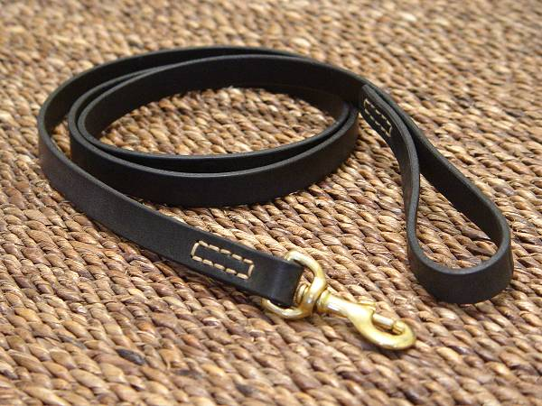 leather dog leash stitched l2st 1 bullmastiffl2st leather dog leashes 600x450