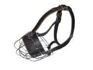 basket wire dog muzzle