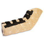 Dog hidden protection sleeve made of jute