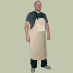 protection apron leather  for dog training