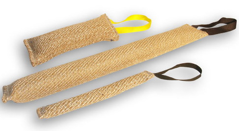This set is includes 3 items and allows you to start training your dog to bite and to develop prey drive