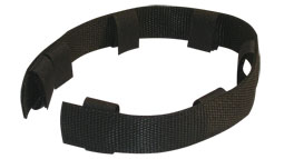 Nylon protector for pinch collar