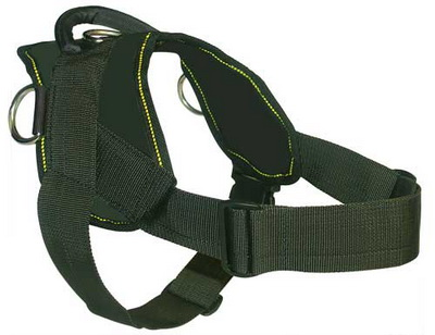 Nylon dog harness for tracking / pulling Designed to fit Dogue De Bordeaux