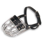 basket wire dog muzzle