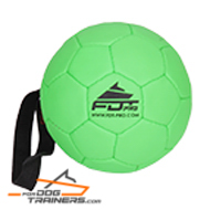 """Football Fan"" Bite Dog Ball for Training and Having Fun"