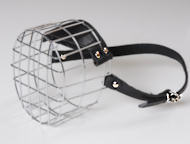 Wire Basket Dog Muzzle with Perfect Air Flow