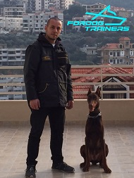 FDT Customer in Ultimate Dog Training Coat With Removable Sleeves