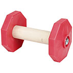 'Easy Bite' Wood&Plastic Dog Dumbbell for Schutzhund Training I 650 g