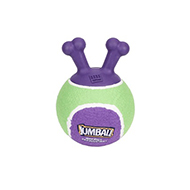 """Funny Game"" Extra Durable Dog Ball with Handle for Active Dogs"