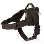 Fila Brasileiro Nylon dog harness with handle-Brazilian Mastiff