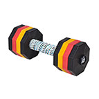 'Power Lifter' Wood and Plastic Dog Training Dumbbell 2000 g (2 kg) - SchH 3