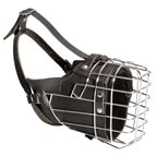 NEW Fully Padded Hard Dog Wire Cage Muzzle | Working Dogs