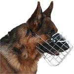 Functional Design German Shepherd Wire Basket Dog Muzzle