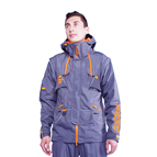 """Pro Jacket"" Dark Grey Color with Orange Details for Stylish Dog Trainers FDT Pro Brand"