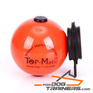 Orange Ball with Magnet Inside and Set of External Magnets - 6.8 cm in Diameter