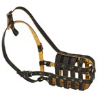 Everyday Light Super Ventilation Leather Basket Muzzle