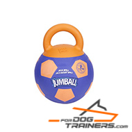 Extra Durable Rubber Skin Jumball Dog Ball with Easy Grib Handle