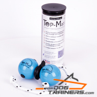 Top-Matic Profi Set - Soft Rubber Blue Balls (6,8 cm) + Black Magnets