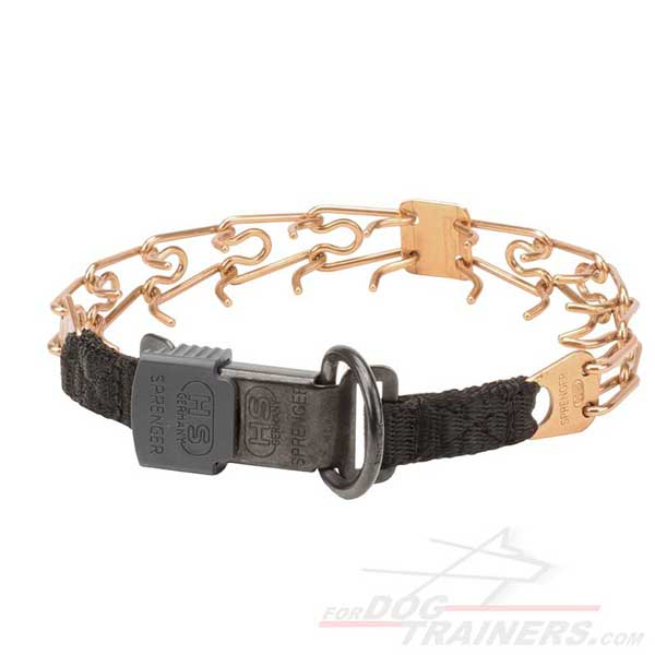 Dog Pinch Collar Curogan Alloy