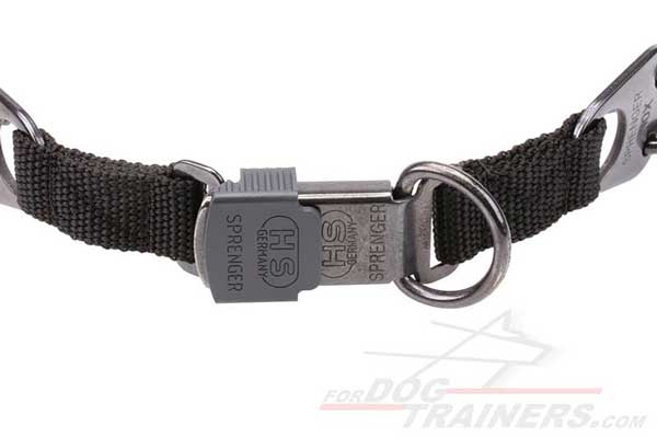 D-ring of K9 Metal Prong Collar