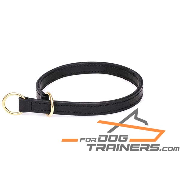 2 Ply Leather Choke Collar