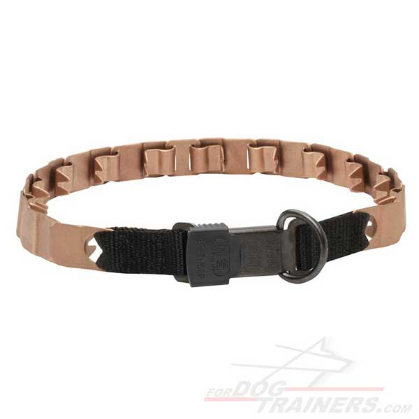 Neck Tech Curogan Dog Collar with Reliable Click Lock Buckle