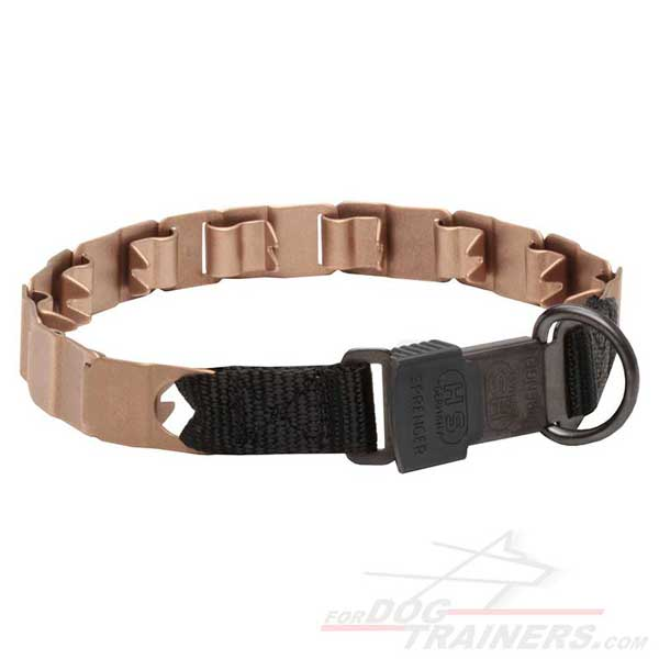 Dog Collar Curogan Neck Tech with Quick Release Buckle