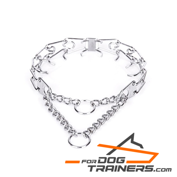 Chrome Plated Pinch Collar