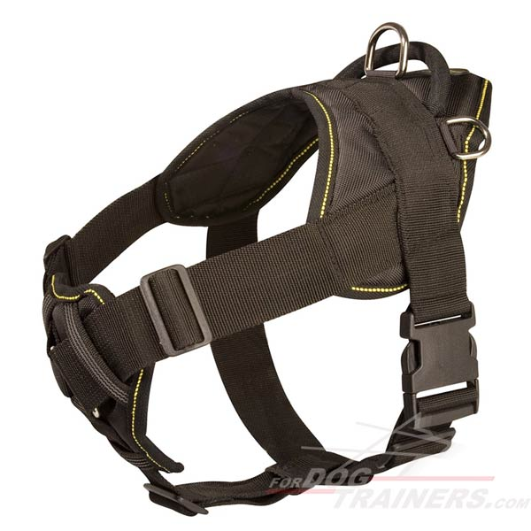 Excellent Dog Harness Made of Nylon for Long-Time Wear