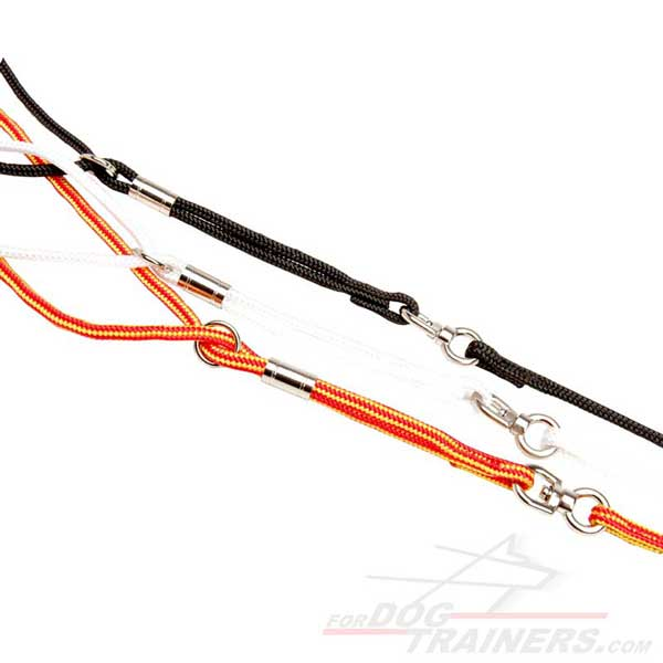 Show Dog Nylon Leashes with Swivel