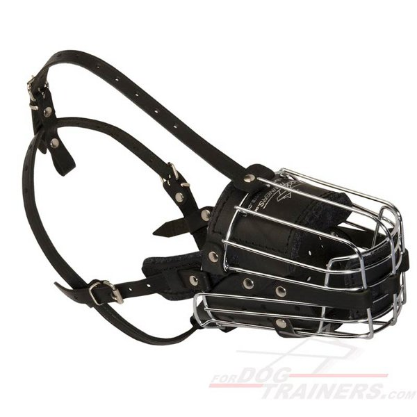 Wire Basket Great Dog Muzzle