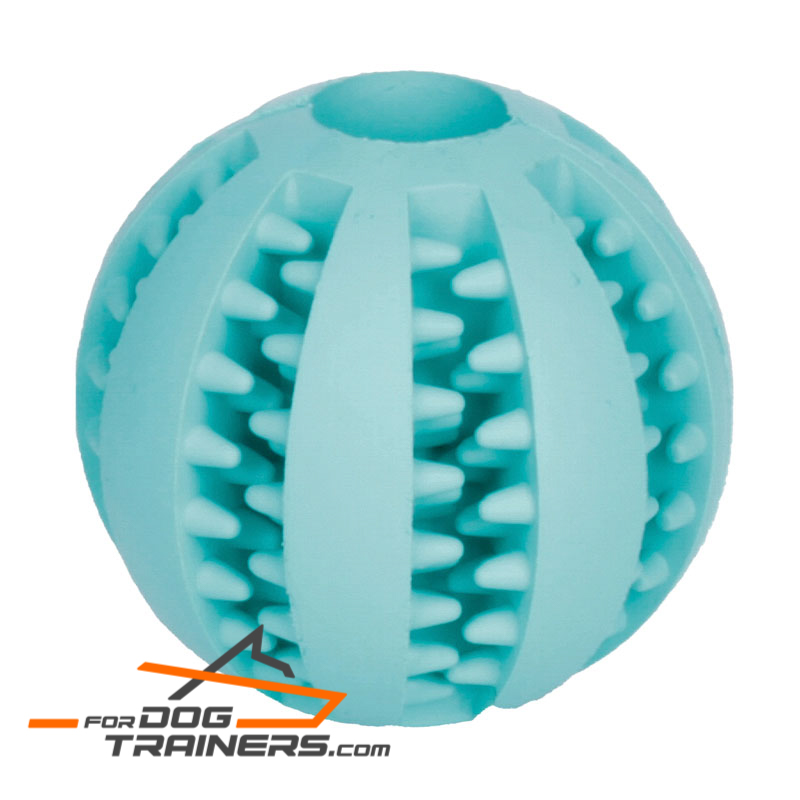 Better dental hygiene dog ball (2 2/5 inches) - Medium