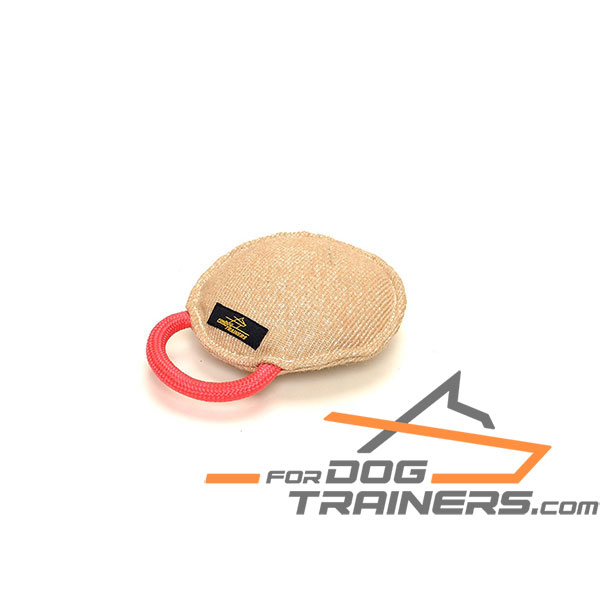 Jute dog tug for bite training