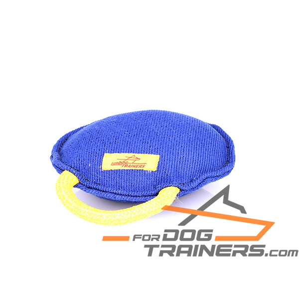 French Linen dog bite tug for comfy use