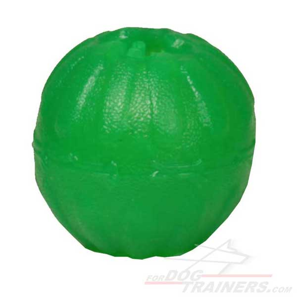 Chew Dog Toy Treat Dispenser Ball for Mental Stimulation