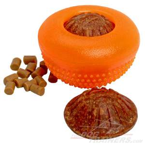 Large Dog Chew Treat Toy Half Ball