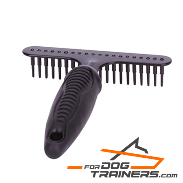 Dog Comb for Short Haired Breeds