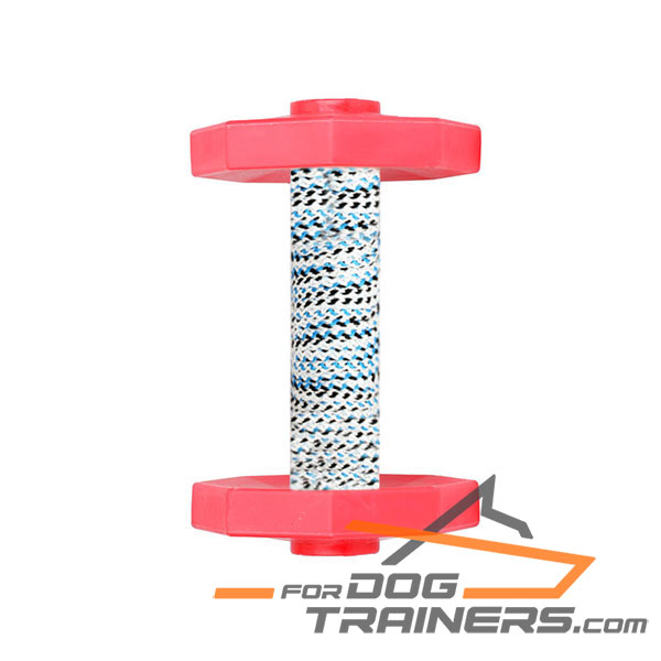 Sturdy Wood Dog Training Dumbbell