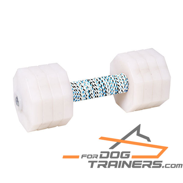 Hardwood Dog Training Dumbbell
