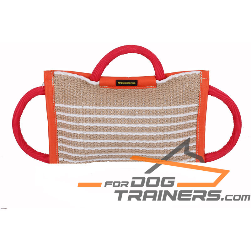 Durable Jute Bite Pad for Dog Professional Training