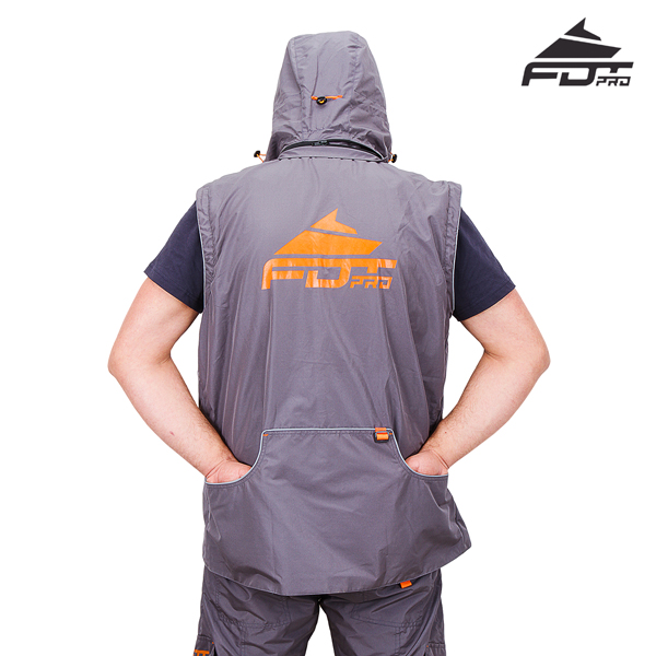 FDT pro jacket with back pockets