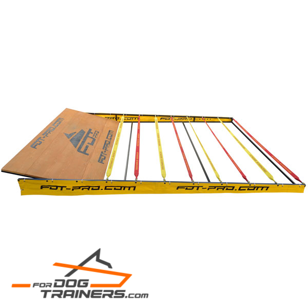 Frame for Dog Training Jump Barrier of Polymer Fabrics
