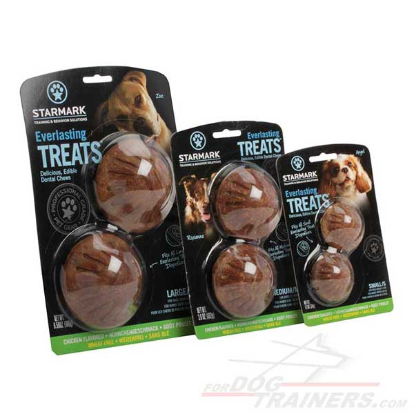 Different Size Dog Treats for Chewing