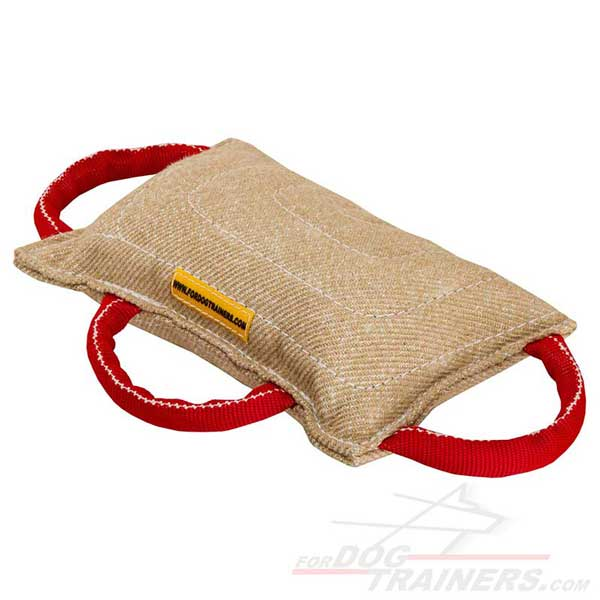 Jute Pad with Three Handles