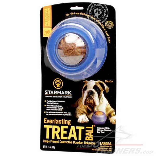 Treat Dispensing Dog Ball Toy Long Lasting