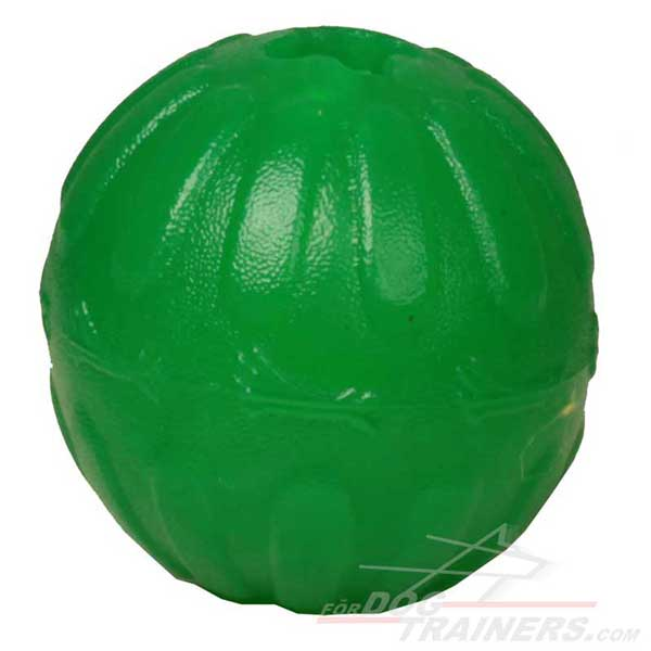 Treat Dispensing Dog Dental Chew Toy Ball
