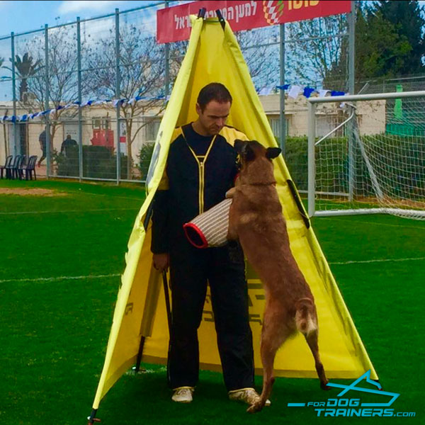 Polimeric Dog Blind for Schutzhund Training