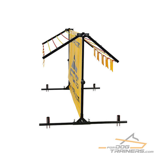Polyster Dog Training Barrier for high/long jumps